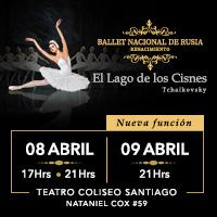 Ballet Nacional de Rusia Renacimiento Teatro Coliseo - Santiago
