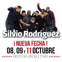 Silvio Rodríguez Movistar Arena - Santiago