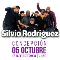 Silvio Rodríguez Estadio Ester Roa - Concepción - Concepción