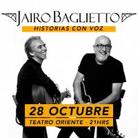 Jairo & Baglietto Teatro Oriente - Providencia