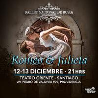 Ballet Romeo y Julieta Teatro Oriente - Providencia