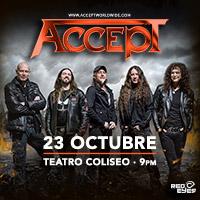 Accept Teatro Coliseo - Santiago