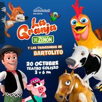 La Granja de Zenon Teatro Coliseo - Santiago