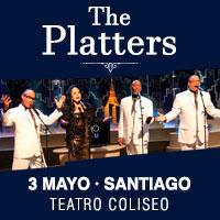 The Platters Teatro Coliseo - Santiago