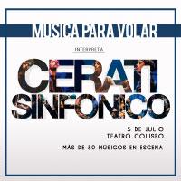 Cerati Sinfónico Teatro Coliseo - Santiago