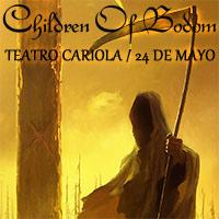 Children of Bodom Teatro Cariola - Santiago