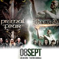Rhapsody & Primal Fear Teatro Cariola - Santiago
