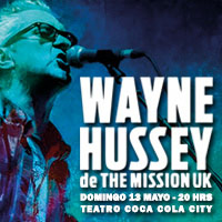 Wayne Hussey de The Mission Teatro Coca-Cola City - Providencia