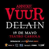 Vuur & Delain Teatro Cariola - Santiago
