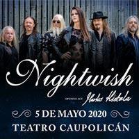 Nightwish | Teatro Caupolicán - Santiago | 05 de mayo 2020