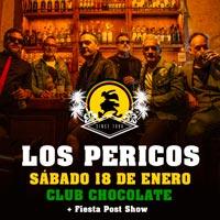 Los Pericos | Teatro Caupolicán - Santiago | 18 de enero 2020