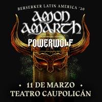 Amon Amarth | Teatro Caupolicán - Santiago | 11 de marzo 2020