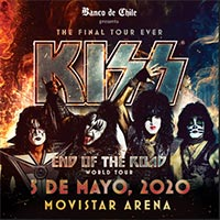 Kiss - The Final Tour Ever | Movistar Arena | 5 de mayo 2020
