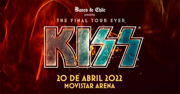 Kiss en Movistar Arena | Venta Oficial de Entradas