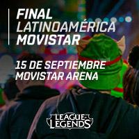 Final Latinoamérica Movistar Movistar Arena - Santiago