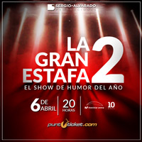 La Gran Estafa 2 Movistar Arena - Santiago