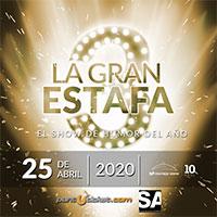 La Gran Estafa 3 Movistar Arena - Santiago