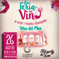 Segunda Feria del Vino Enjoy Viña del Mar - Viña del Mar