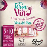 Tercera Feria del Vino de Autor Enjoy Viña del Mar - Viña del Mar