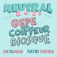 Festival Neutral Teatro Cariola - Santiago
