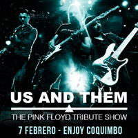US AND THEM - The Pink Floyd Tribute Show Enjoy Coquimbo - Coquimbo