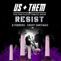 US AND THEM - Pink Floyd Enjoy Santiago - Los Andes