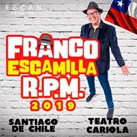 Franco Escamilla Teatro Cariola - Santiago