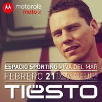 Tiësto Espacio Sporting - Viña del Mar - Viña del Mar