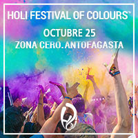 Holi Festival of Colours Zona Cero - Puerto Antofagasta - Antofagasta