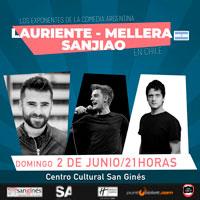 Lauriente, Mellera y Sanjiao en Chile Centro Cultural San Ginés - Sala Principal - Providencia