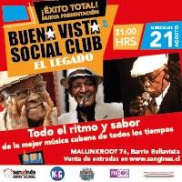 Buena Vista Social Club Centro Cultural San Ginés - Sala Principal - Providencia