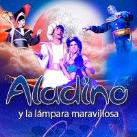 Aladino y la Lámpara Mágica Centro Cultural San Ginés - Sala Principal - Providencia