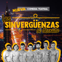 Los Sinvergüenzas al Desnudo Teatro San Ginés - Sala 1 - Providencia