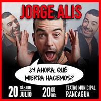 Jorge Alís Teatro Regional de Rancagua - Rancagua