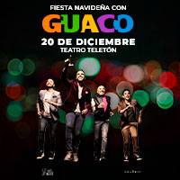 Fiesta Navideña Venezolana con Guaco Teatro Teletón - Santiago