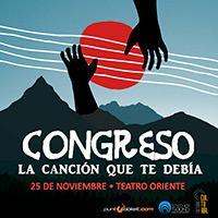 Lanzamiento disco Congreso Teatro Oriente - Providencia