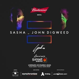 Sasha - John Digweed | Fundo El Colmito - Concón | 3 de enero 2020