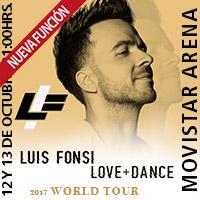 Luis Fonsi Movistar Arena - Santiago