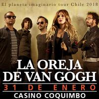 La Oreja de Van Gogh Enjoy Coquimbo - Coquimbo