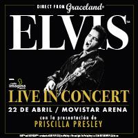 Sinfónico de Elvis Presley Movistar Arena - Santiago