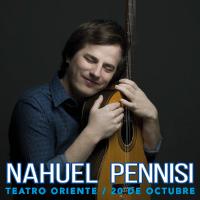 Nahuel Pennisi Teatro Oriente - Providencia