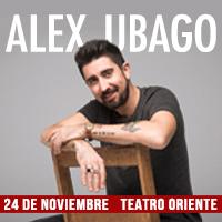 Alex Ubago Teatro Oriente - Providencia