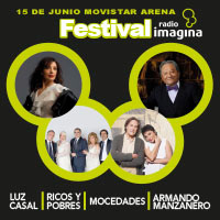 Festival Radio Imagina Movistar Arena - Santiago