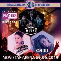 La Noche de FMDOS Movistar Arena - Santiago