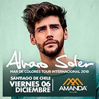 Alvaro Soler Club Amanda - Vitacura