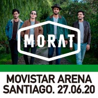 Morat Movistar Arena - Santiago