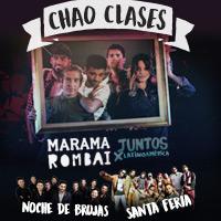 Chao Clases: Marama + Rombai Gira Techo Movistar Arena - Santiago