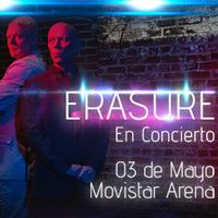 Erasure Movistar Arena - Santiago
