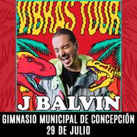 J Balvin Gimnasio Municipal de Concepción - Concepción