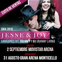 Jesse & Joy Gran Arena Monticello - San Francisco de Mostazal
